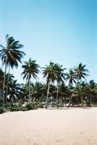 Village sur la plage