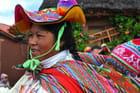 Village sur les bord du Titicaca