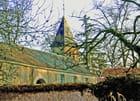 Villiers le Bâcle, presbytère, clocher