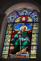 vitrail de la Cathédrale la Purisima Conception