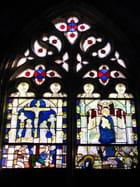 Vitrail du XIVè siècle