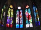 Vitraux modernes de la cathédrale de Nevers - 1