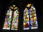Vitraux modernes de la cathédrale de Nevers - 2