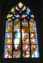 Vitraux modernes - La Pentecôte