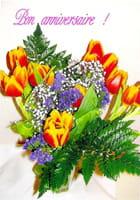 Voeux fleuris