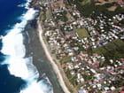 Vol au dessus de la Réunion