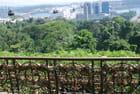 vue des hauteurs de Singapour
