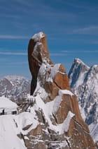 Vue du plateau Aiguille du Midi