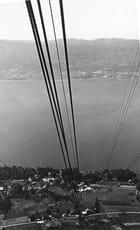 Vue du téléphérique du Verrier