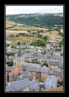 Vue générale sur Séverac Le Château