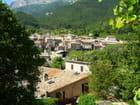 Vue sur Châtillon en Diois