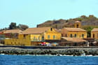 Vue sur la côte Est de l'île de Gorée