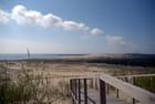 vue sur la dune de Parnidis, la 2° plus haute d'Europe