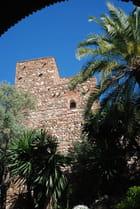 vue sur la forteresse de La Alcazaba