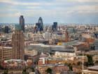 Vue sur la ville avec London Eye