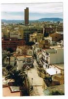 Vue sur la ville d'Alicante