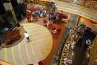 vue sur le salon du rez de chaussée du bateau le Costa Magica