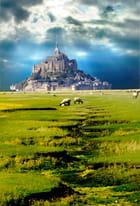 W.K. et balade en couleur au Mont St Michel