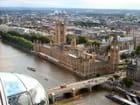 Westminster vu du London Eye
