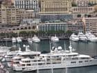 Yacht avec hélicoptère