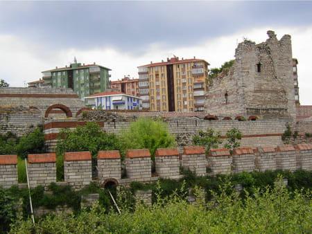 La muraille de Constantinople