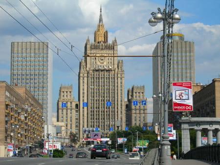 Le gratte-ciel stalinien de la Place Koudrine