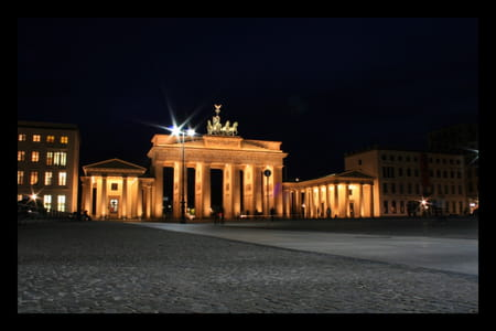 Porte de Brandebourg de Berlin