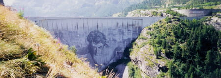 La barrage de Tignes