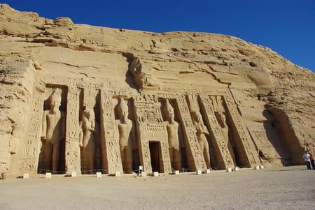 Le temple d'Hathor d'Abou Simbel
