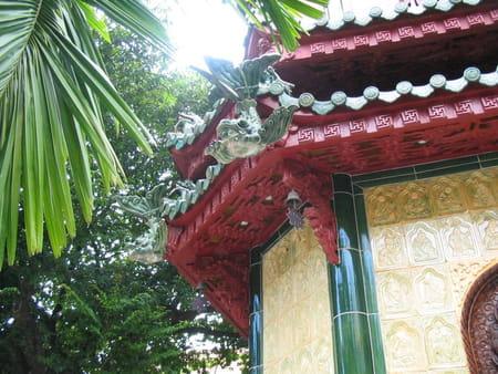 Pagodes du centre ville de Hô Chi Minh-Ville
