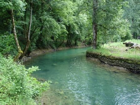 Source Bleue du Cusançin