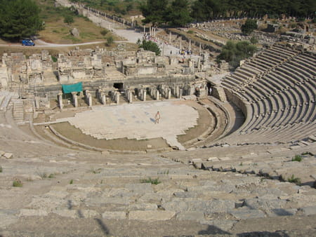 Le théâtre d'Éphèse