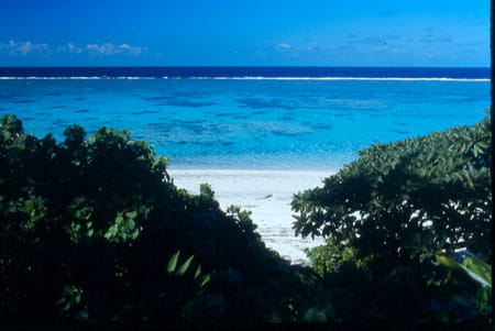 Les plages de Cengeite et Wabao