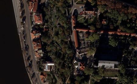 Les maisons cubistes de Vysehrad