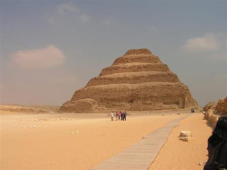La nécropole de Saqqara