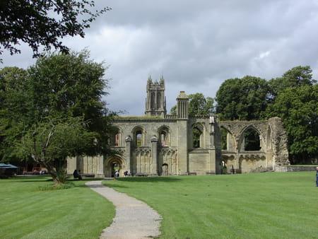 L'abbaye de Glastonbury