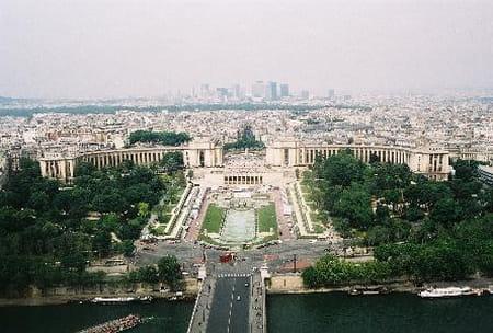 L'Esplanade du Trocadéro