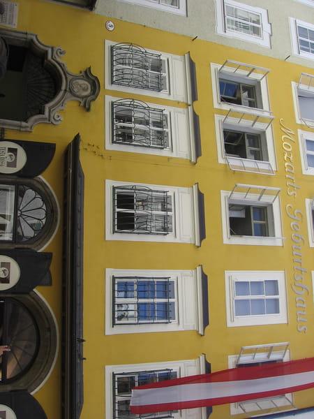 Maison natale de Wolfgang Amadeus Mozart à Salzbourg