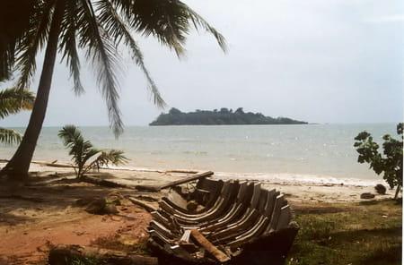 La côte ouest de Ko Chang
