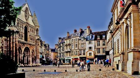Centre ville de Poitiers