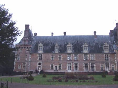 Le château de Saint-Fargeau