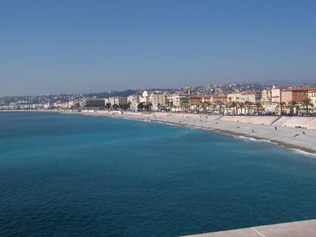 Bords de mer de Nice