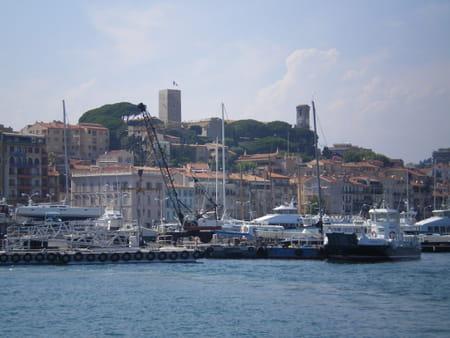 Quartier Suquet de Cannes