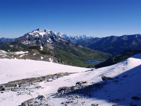 La glacier de la Grande Motte
