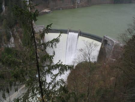 Barrage du Châtelot de Villers-le-Lac