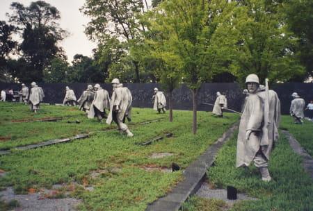 Le mémorial des vétérans de la guerre de Corée