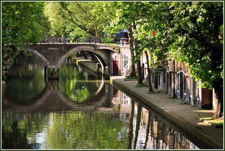 Les canaux d'Utrecht