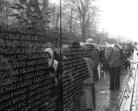 Le mémorial des vétérans du Vietnam