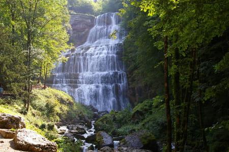 La cascade de L'Eventail