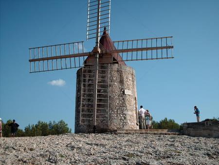 Moulin d'Alphonse Daudet à Fontvieille
